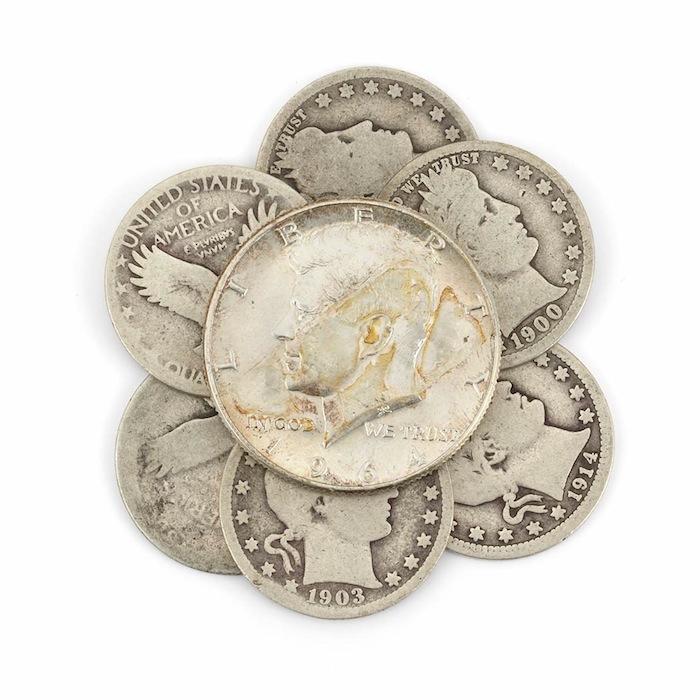 U.S. silver coins Doyle NY