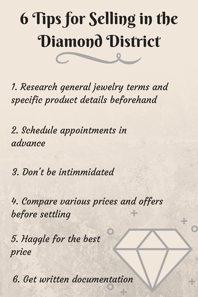 6 Tips for Selling Jewelry in the Diamond District.