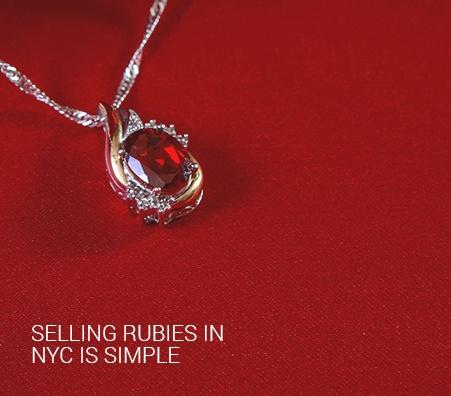 Selling Rubies in NYC