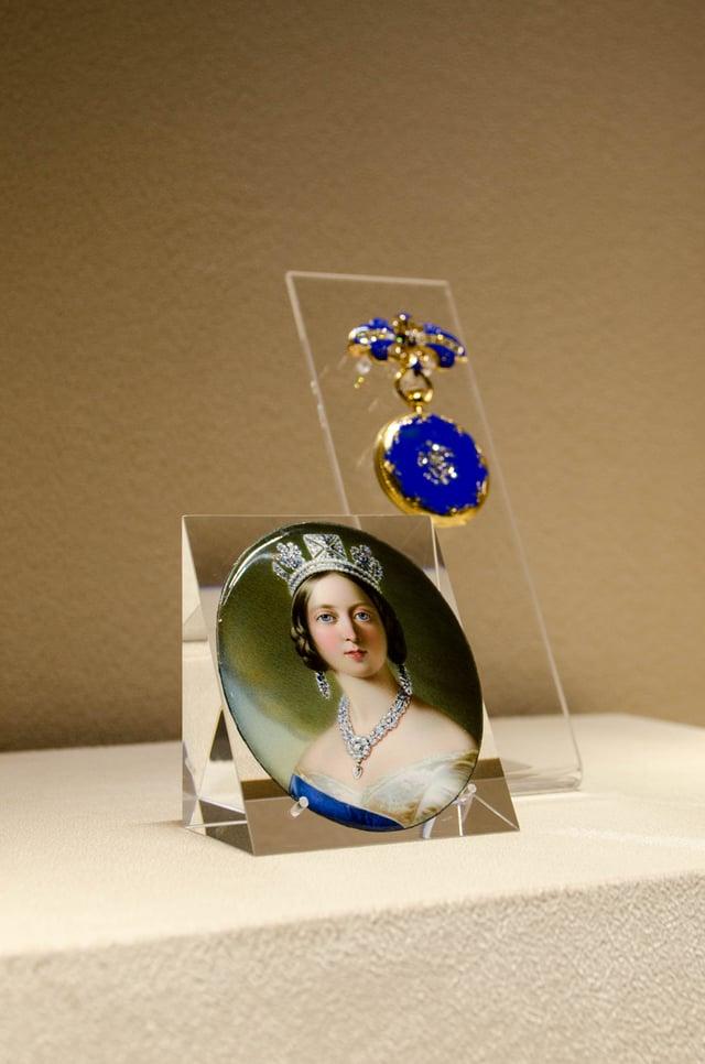 Queen Victoria's Patek Philippe pendant watch