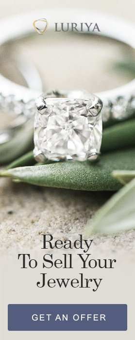 Website Side Menu Banner Diamond Ring