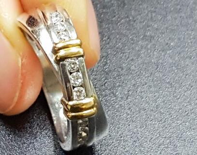 a channel band for your diamond ring