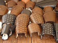 Leather armcuffs