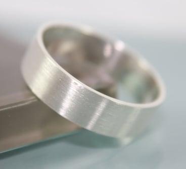 matte wedding ring