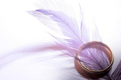feather brooch in winter 2018