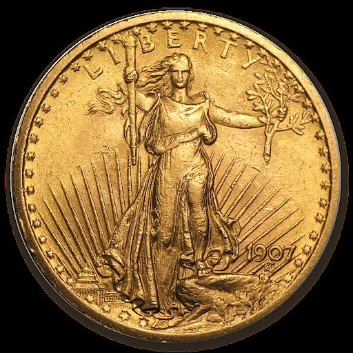 1 oz. St. Gaudens double eagle