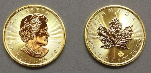 1 oz. Canadian Maple Leaf