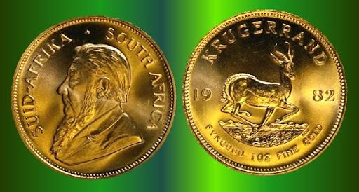 1 oz. South African gold Krugerrand